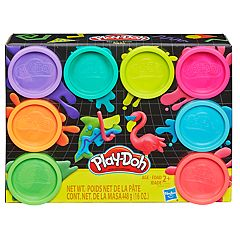 Play-Doh 8-Pack Neon Non-Toxic Modeling Compound Set