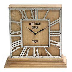 Stratton Home Decor The Hamilton Table Clock