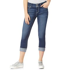 Juniors' WallFlower Luscious Curvy Capri Jeans