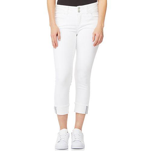 Juniors' WallFlower Insta Stretch™ Luscious Curvy Capri Jeans