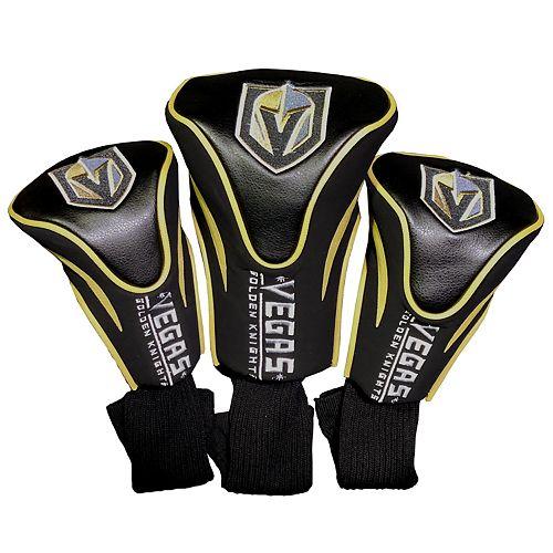 Team Golf Vegas Golden Knights 3-pack Contour Head Cover Set