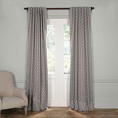 EFF Crosshatch Blackout Window Curtain