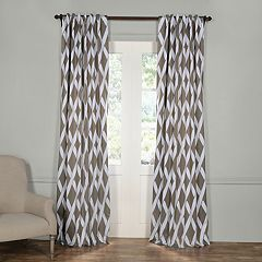 EFF Crosshatch Blackout Window Curtain