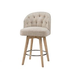 Madison Park Boyle Swivel Counter Stool