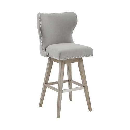 Madison Park Irvine High Swivel Counter Bar Stool