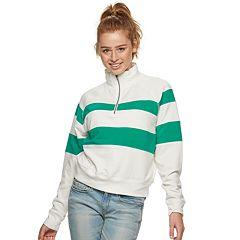 Junior SO® Fleece Colorblock Half-Zip Sweatshirt