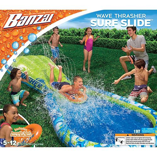 Banzai 13' Long Wave Thrasher Surf Slide
