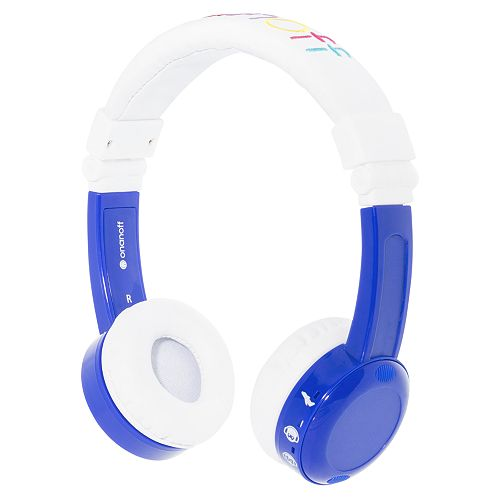 BuddyPhones Inflight Kids On-Ear Headphones with Mic
