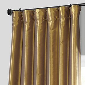 EFF Faux Silk Taffeta Window Curtain