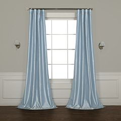 EFF Faux Silk Taffeta Window Curtain
