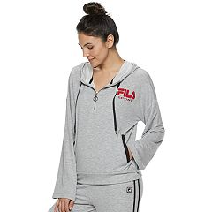 Women's FILA SPORT® Bell Sleeve Half-Zip Jacket