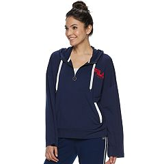 NEW! Women's FILA SPORT® Bell Sleeve Half-Zip Jacket