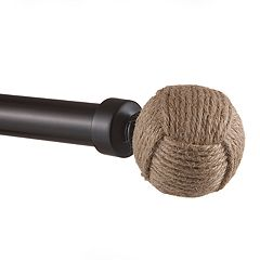 Exclusive Home Rope Knot 1-in. Curtain Rod