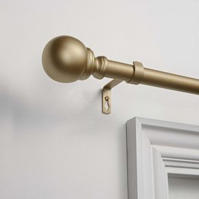 Exclusive Home Sphere 1-in. Curtain Rod