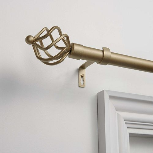 Exclusive Home Torch 1-in. Curtain Rod