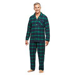 Men's Haggar Cotton Flannel Pajama Set