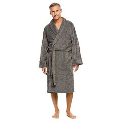 8260cafe15 Men s Haggar Marled Shawl-Collar Fleece Robe