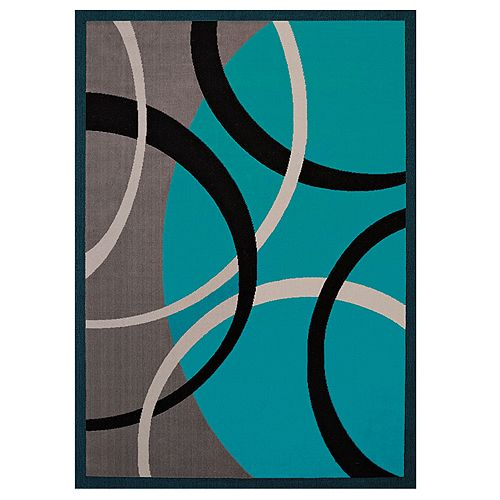 United Weavers Cafe Mocha Geometric Area Rug