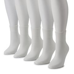 Women's Tek Gear® 5-Pack Repreve Textured Quarter Length Socks