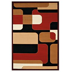 United Weavers Cafe Breakfront Geometric Area Rug