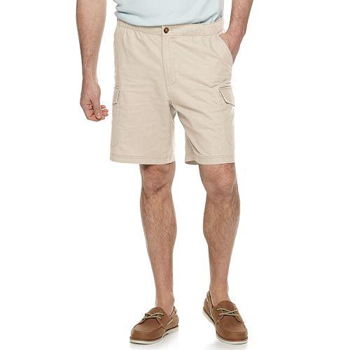 Men's Croft & Barrow® Relaxed-Fit Linen-Blend Cargo Dock Shorts