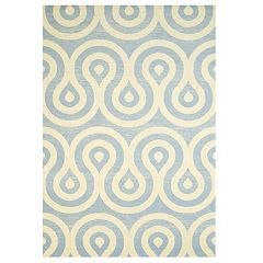United Weavers Cafe Latte Swirling Geometric Area Rug