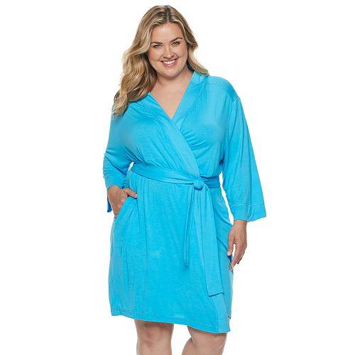 Plus Size Jockey® Tropical Paradise Robe
