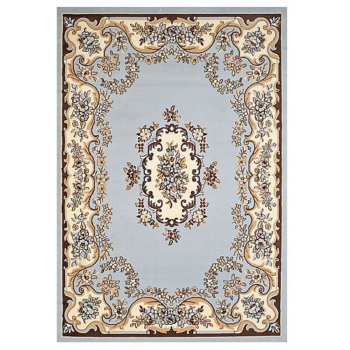 United Weavers Cafe Aubusson Updated Floral Area Rug