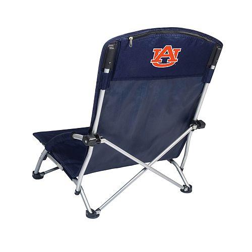 Picnic Time Auburn Tigers Tranquility Portable Beach Chair