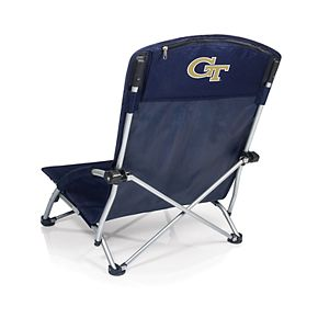 Picnic Time Georgia Tech Yellow Jackets Tranquility Portable Beach Chair