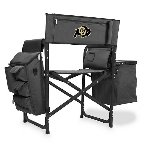 Picnic Time Colorado Buffaloes Fusion Backpack Chair with Cooler