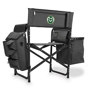 Picnic Time Colorado State Rams Fusion Backpack Chair with Cooler