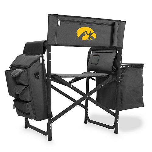 Picnic Time Iowa Hawkeyes Fusion Backpack Chair with Cooler