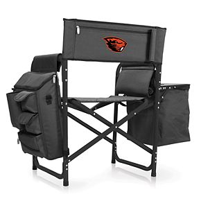 Picnic Time Oregon State Beavers Fusion Backpack Chair with Cooler