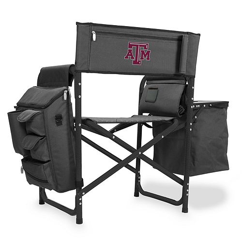 Picnic Time Texas A&M Aggies Fusion Backpack Chair with Cooler