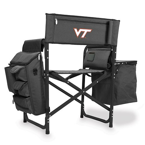Picnic Time Virginia Tech Hokies Fusion Backpack Chair with Cooler