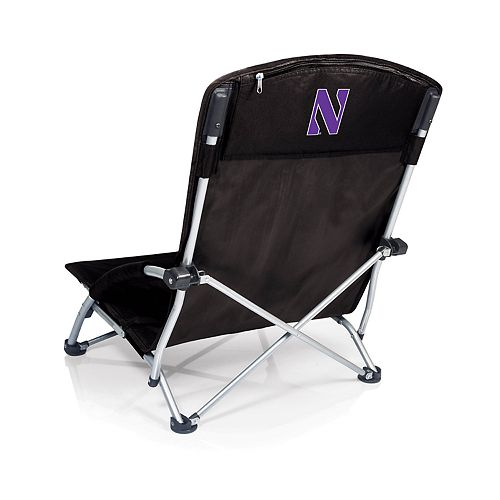 Picnic Time Northwestern Wildcats Tranquility Portable Beach Chair