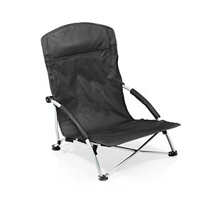 Picnic Time TCU Horned Frogs Tranquility Portable Beach Chair