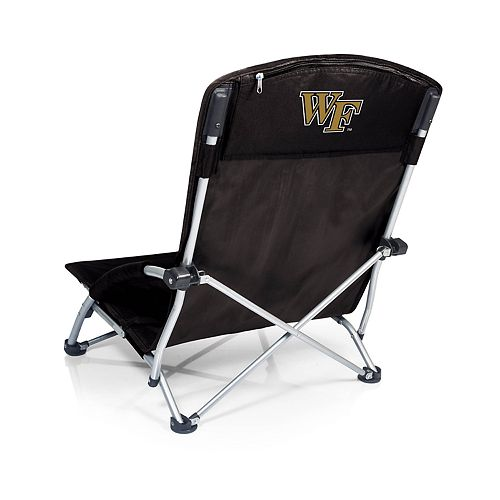 Picnic Time Wake Forest Demon Deacons Tranquility Portable Beach Chair