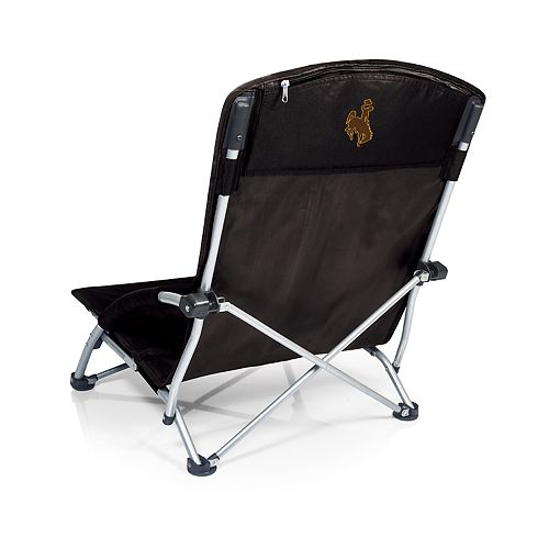 Picnic Time Wyoming Cowboys Tranquility Portable Beach Chair