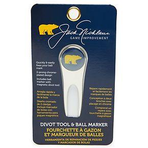 Jack Nicklaus Golf Divot Tool & Ball Marker
