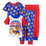 Toddler Boy Paw Patrol Chase, Rubble, Marshalle & Skye Tops & Bottoms Pajama Set