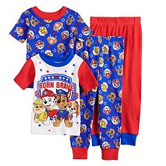 07fcd283 Toddler Boy Paw Patrol Chase, Rubble, Marshalle & Skye Tops & Bottoms  Pajama Set