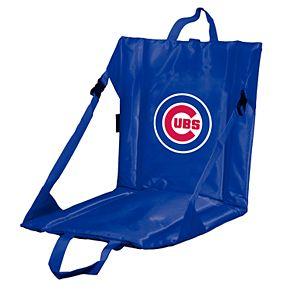 Logo Brands Chicago Cubs Hard Back Stadium Seat