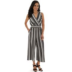 Women's Apt. 9® Smocked Sleeveless Jumpsuit