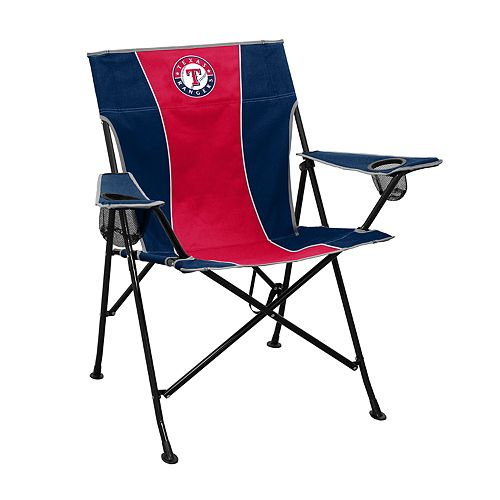 Logo Brands Texas Rangers Game Time Portable Folding Chair
