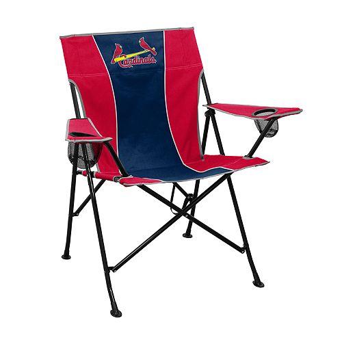 Logo Brands St. Louis Cardinals Game Time Portable Folding Chair