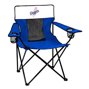 Logo Brands Los Angeles Dodgers Elite Portable Folding Chair