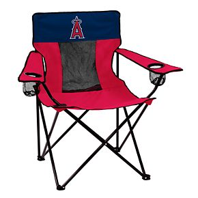 Logo Brands Los Angeles Angels of Anaheim Elite Portable Folding Chair