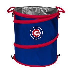 Logo Brands Chicago Cubs Collapsible 3-in-1 Trashcan Cooler